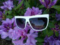 Hvide solbriller