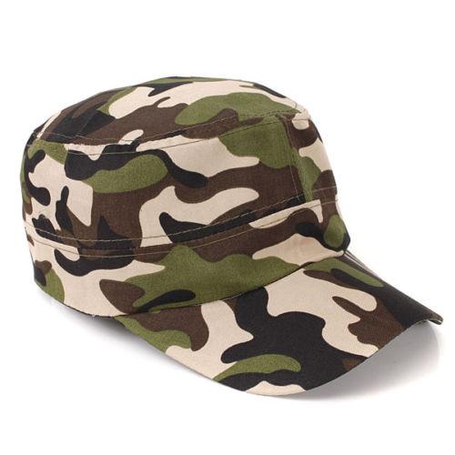 Camouflage Caps.