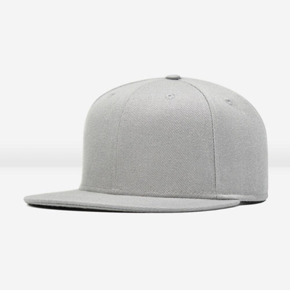 Grå baseball caps