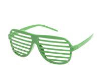 Super Sejegrønne retro partybriller.