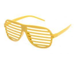 Gule retro partybriller.