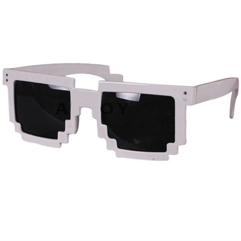 Hvid 8-BIT Solbriller