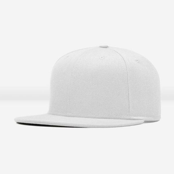 Hvid baseball caps
