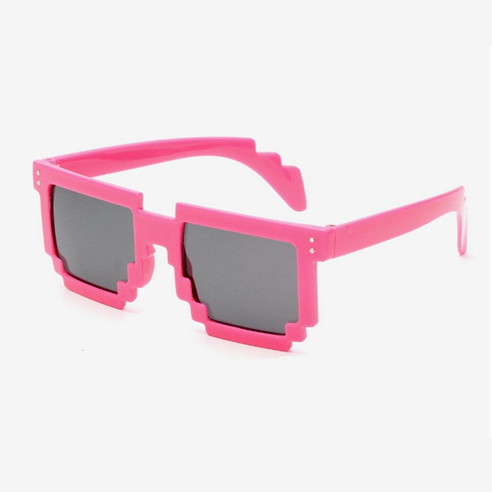 Lyserød 8-BIT Solbriller