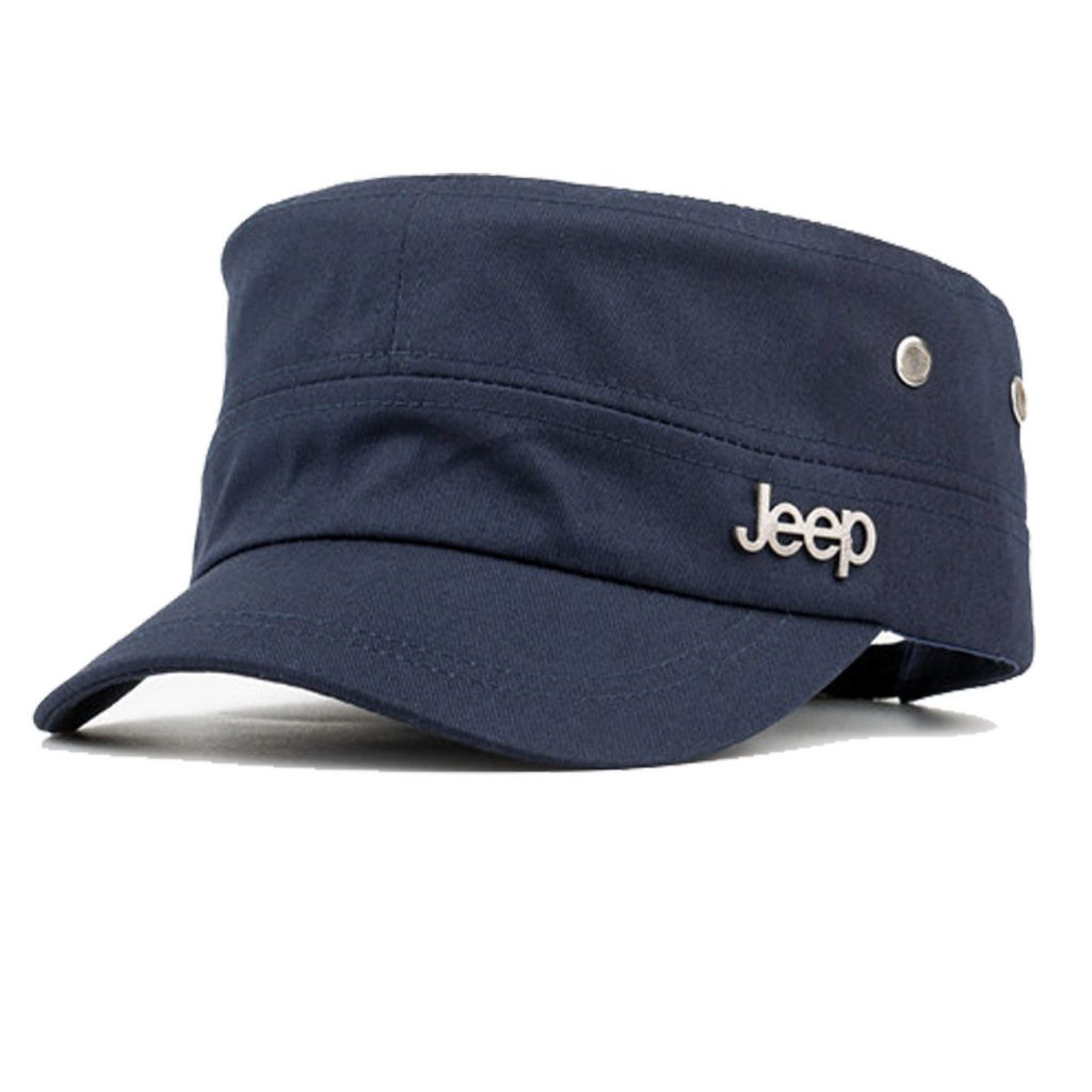 Marineblå cap