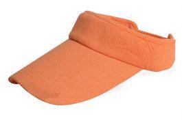 Orange solskærm.