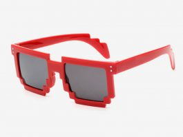 Rød 8-BIT Solbriller