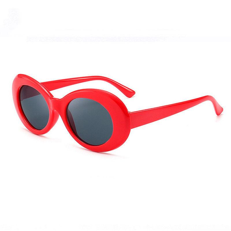 Rød flower power hippie solbriller
