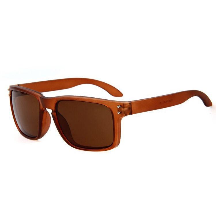 Brune Solbriller med brunt glas