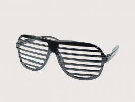 Sorte retro partybriller