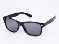 Sorte Wayfarer solbriller til børn