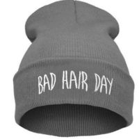 "Grå hue""Bad hair day"""