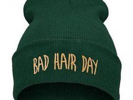 "Mørkegrøn ""Bad hair day"""