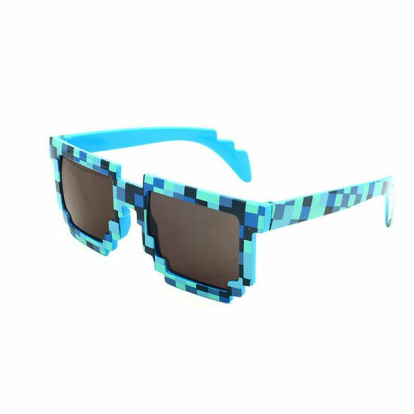 blå 8-BIT Solbriller