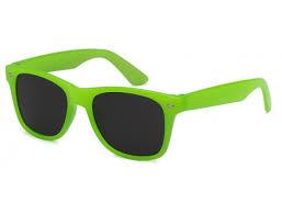 Grøn Wayfarer solbriller til børn