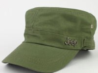 Grøn cap.