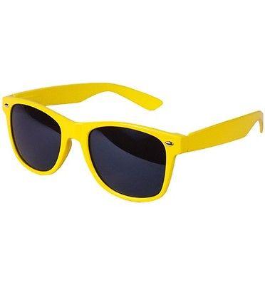 Gul Wayfarer solbriller til børn