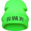 "Neongrøn hue""Bad hair day"""