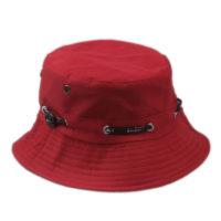 rød buckethat
