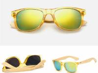 Gule Transparant Solbriller