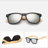 Sorte Wayfarer solbriller