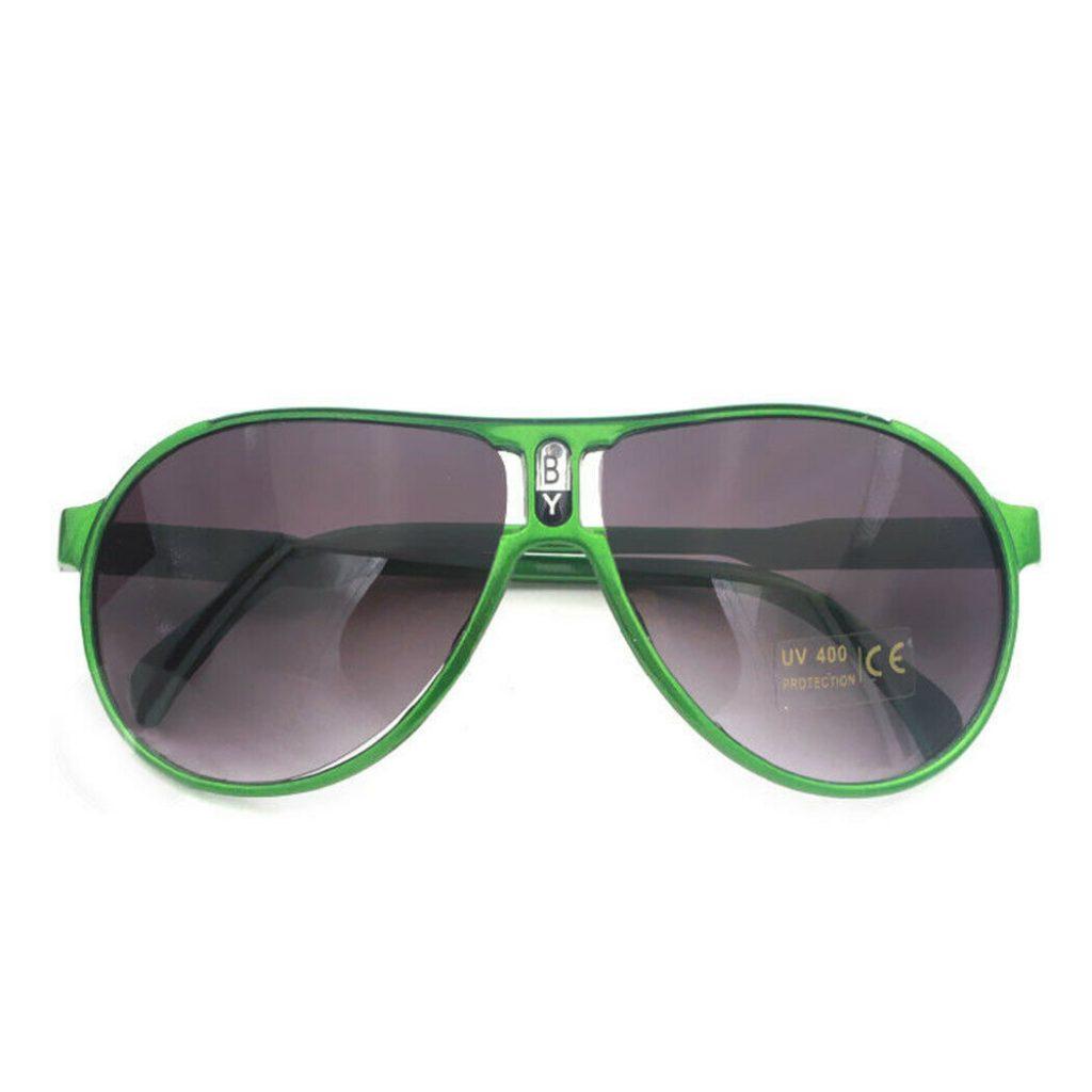 Grønne børne solbriller.