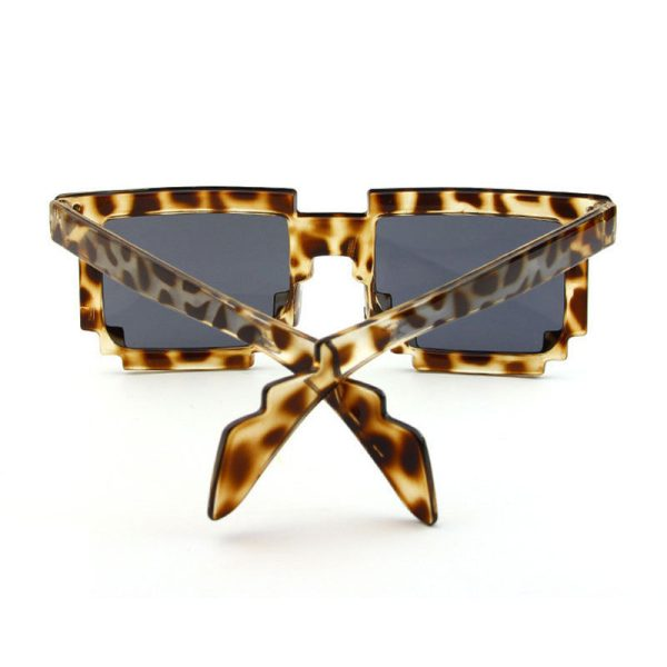 leopardfarvet 8-BIT Solbriller