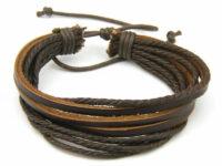 Hawaii – Brunt læderarmbånd